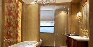 Луксозно обзавеждане за баня за приятните водни процедури