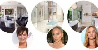 Безумно луксозните бани на 12 знаменитости