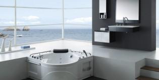 Минималистичен дизайн на баня