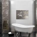 Декорът в банята зависи най-вече от плочките